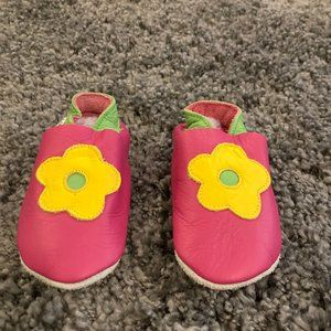 Girls Pink Slip-on Shoes